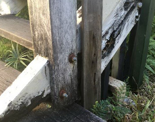 Stair Frame Repair